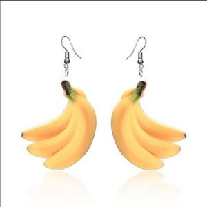 GO BANANAS OVER THESE CUTE FUNKY EARRINGS